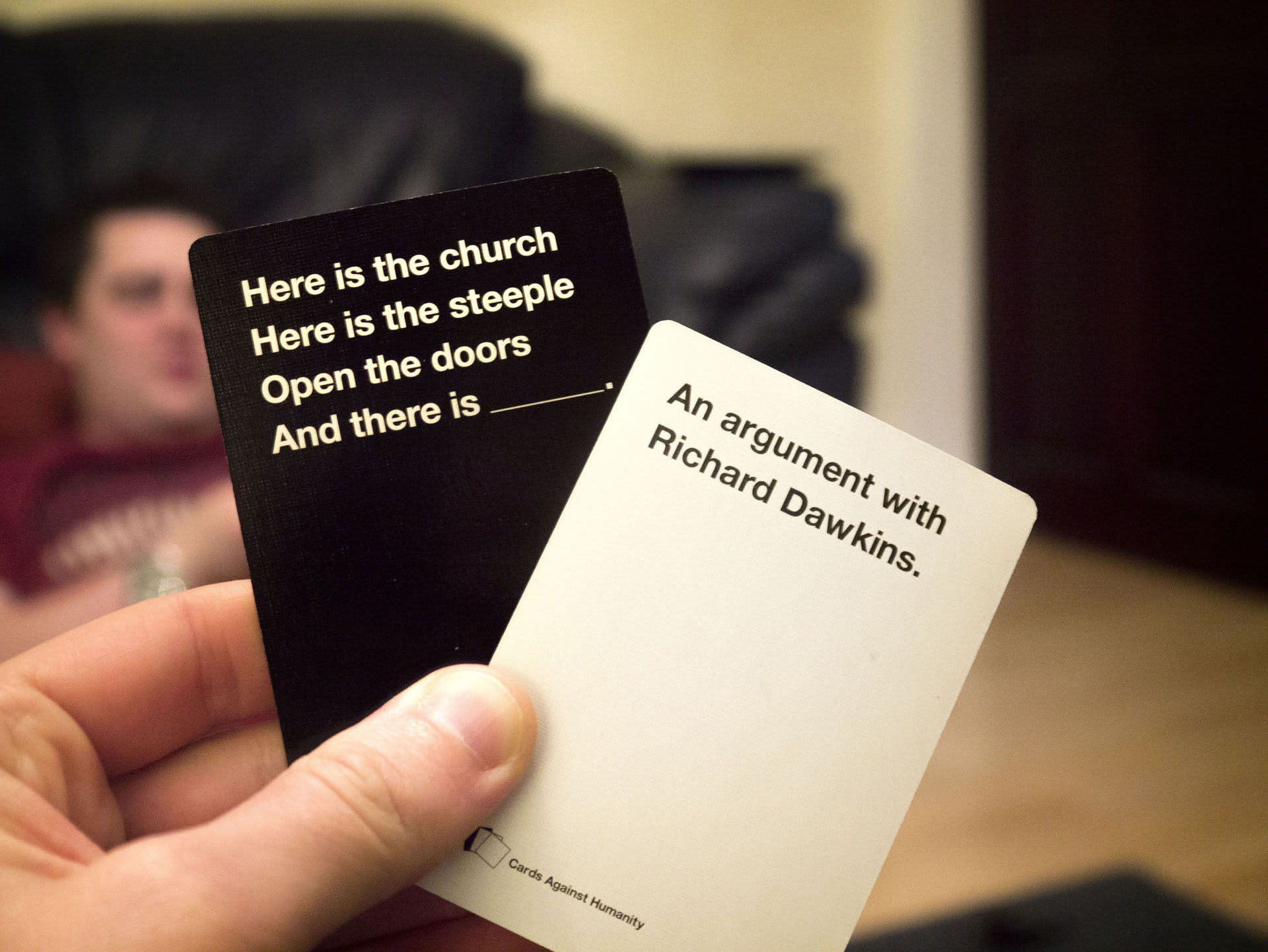 Cards Against Humanity gives out $1,000 checks to their poorest players